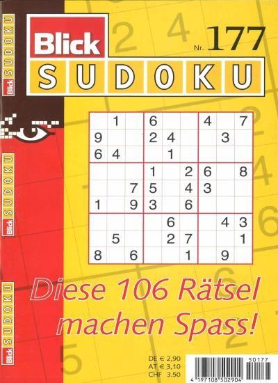 BLICK SUDOKU 177/2020