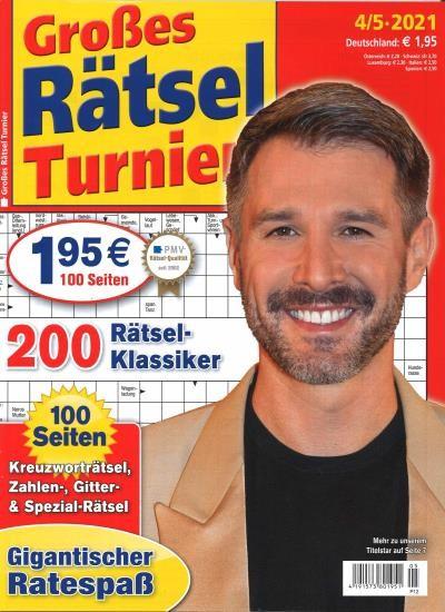GROSSES RÄTSEL TURNIER 5/2021