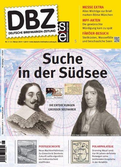 DBZ DEUTSCHE BRIEFMARKEN-ZEITUNG 5/2019