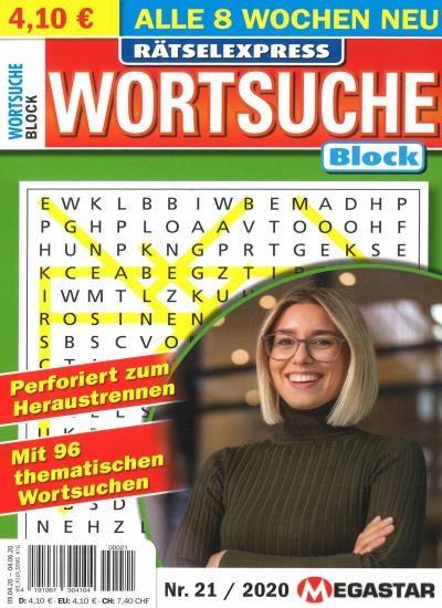 WORTSUCHE BLOCK Abo