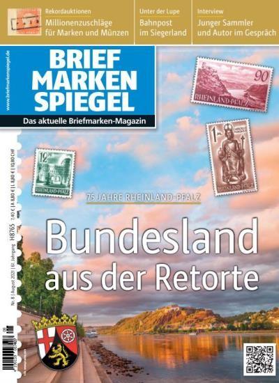 BRIEFMARKEN SPIEGEL 8/2021