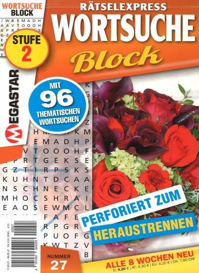 WORTSUCHE BLOCK 27/2021