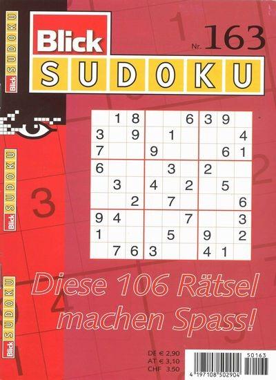 BLICK SUDOKU 163/2019
