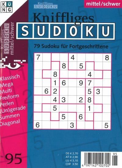 KNIFFLIGES SUDOKU 95/2020
