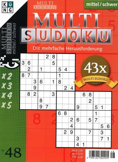 MULTI SUDOKU 48/2021