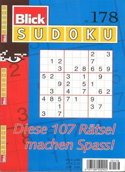 BLICK SUDOKU 178/2020