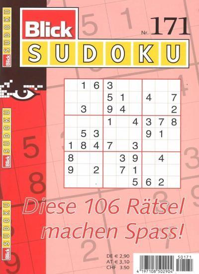 BLICK SUDOKU 171/2020
