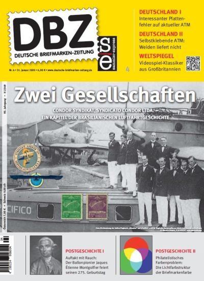DBZ DEUTSCHE BRIEFMARKEN-ZEITUNG 4/2020