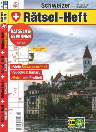 SCHWEIZER RÄTSEL-HEFT 5/2019