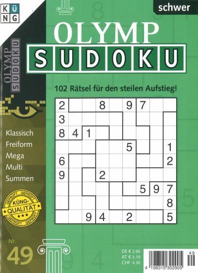 OLYMP SUDOKU 49/2020