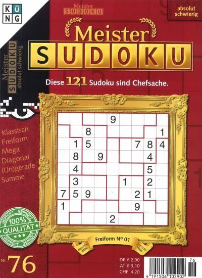 MEISTER SUDOKU 76/2020