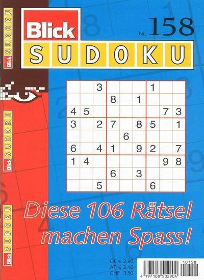 BLICK SUDOKU 158/2019