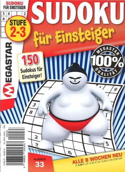 150 SUDOKU FÜR EINSTEIGER 33/2021