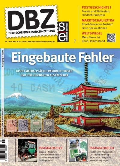 DBZ DEUTSCHE BRIEFMARKEN-ZEITUNG 7/2020
