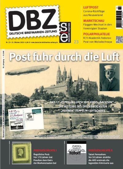 DBZ DEUTSCHE BRIEFMARKEN-ZEITUNG 23/2020
