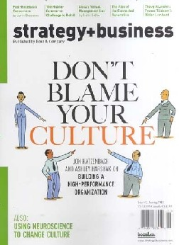 STRATEGY & BUSINESS / USA Abo