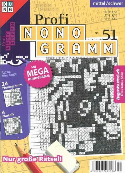 PROFI NONOGRAMM 51/2018