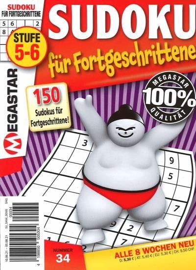 150 SUDOKU FÜR FORTGESCHRITTENE 34/2021