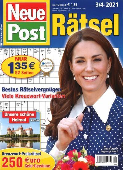 NEUE POST RÄTSEL 4/2021