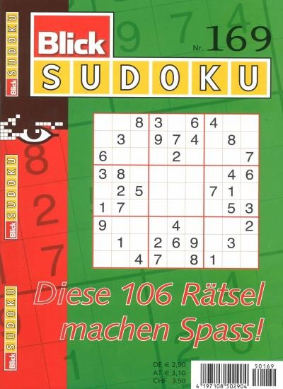 BLICK SUDOKU 169/2020
