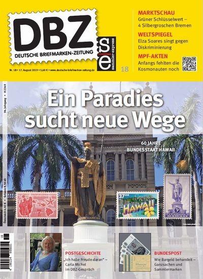 DBZ DEUTSCHE BRIEFMARKEN-ZEITUNG 18/2019