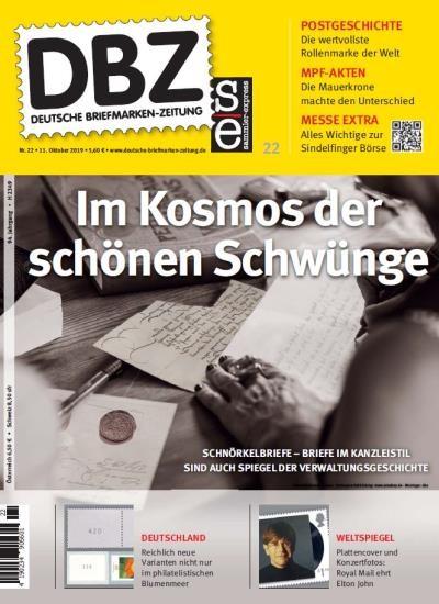 DBZ DEUTSCHE BRIEFMARKEN-ZEITUNG 22/2019