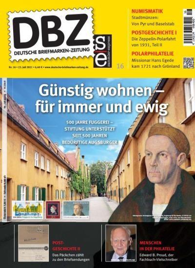 DBZ DEUTSCHE BRIEFMARKEN-ZEITUNG 16/2021