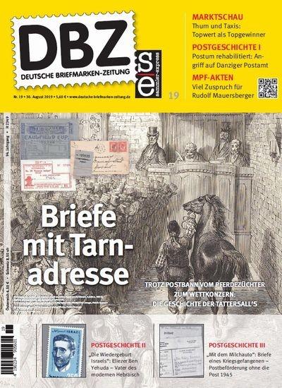 DBZ DEUTSCHE BRIEFMARKEN-ZEITUNG 19/2019