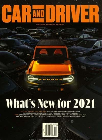 CAR & DRIVER / USA Abo