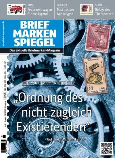 BRIEFMARKEN SPIEGEL 8/2020