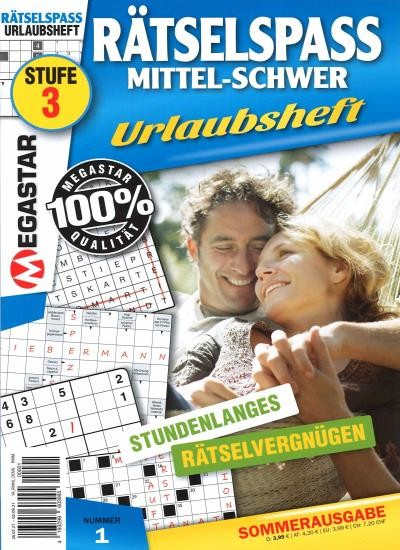 MEGASTAR RÄTSELSPASS MITTEL-SCHWER 1/2021