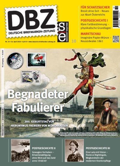 DBZ DEUTSCHE BRIEFMARKEN-ZEITUNG 10/2020