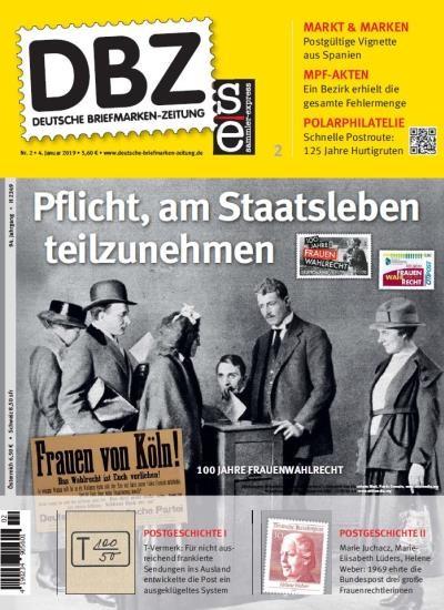 DBZ DEUTSCHE BRIEFMARKEN-ZEITUNG 2/2019