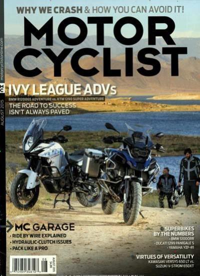 MOTOR CYCLIST / USA Abo