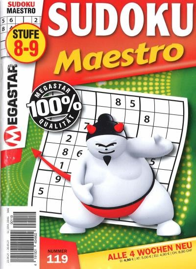 SUDOKU MAESTRO 119/2021