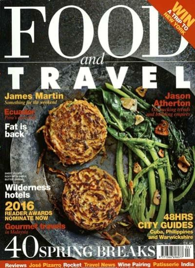 FOOD AND TRAVEL / GB Abo