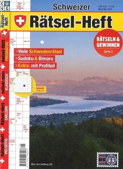 SCHWEIZER RÄTSEL-HEFT 5/2020