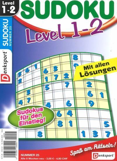 SUDOKU LEVEL 1-2 Abo