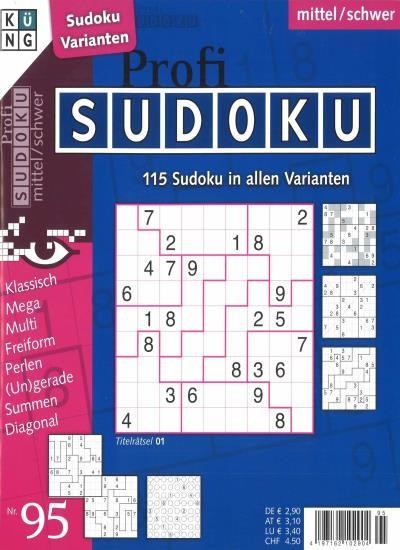 PROFI SUDOKU 95/2020
