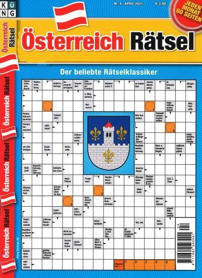 ÖSTERREICH RÄTSEL 4/2021