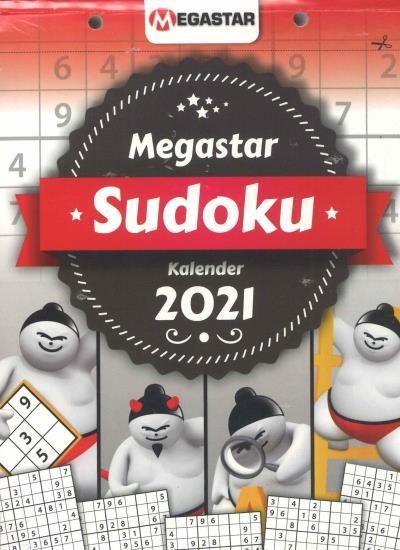 MEGASTAR SUDOKU KALENDER 5/2021