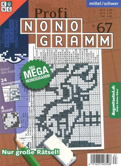 PROFI NONOGRAMM 67/2020