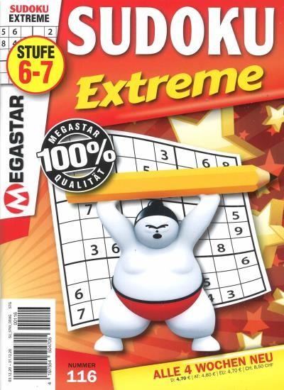 SUDOKU EXTREME 116/2020