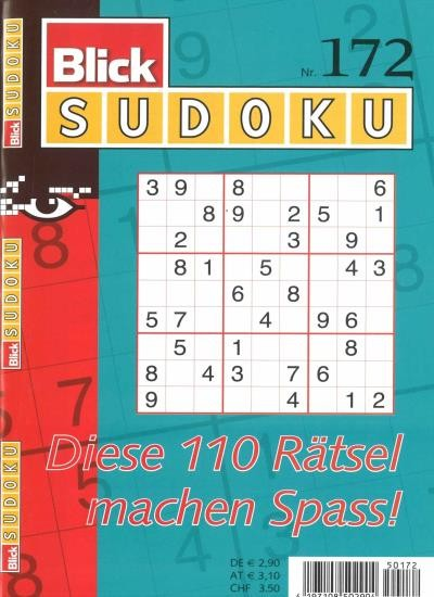 BLICK SUDOKU 172/2020