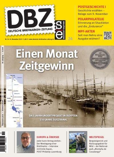 DBZ DEUTSCHE BRIEFMARKEN-ZEITUNG 24/2019