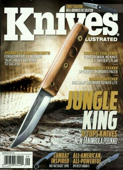 KNIVES ILLUSTRATED / USA Abo