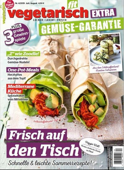 VEGETARISCH FIT 4/2019