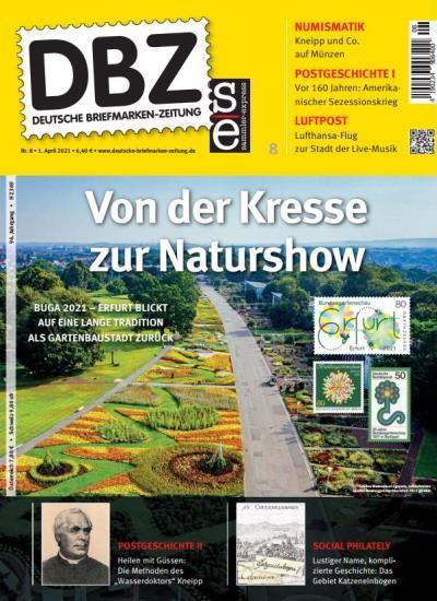 DBZ DEUTSCHE BRIEFMARKEN-ZEITUNG 8/2021