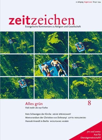ZEITZEICHEN 8/2020