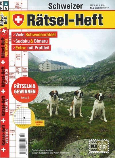 SCHWEIZER RÄTSEL-HEFT 9/2019